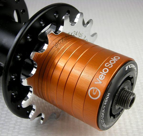 VeloSolo CNC SINGLESPEED Cassette Hub SPACER KIT single