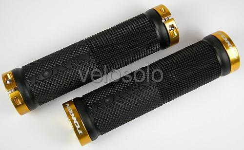BN-Token-Lock-On-MTB-GRIPS-black-silver-gold-red-blue